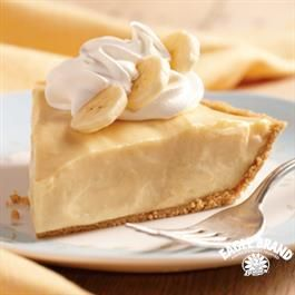 Banana Cream Pie from Eagle Brand® Sweetened Condensed Milk is a sweet no-bake dessert for your next bake sale!