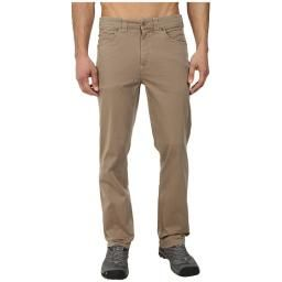 Langston Pant, Fossil, XL, 36 : Organic cotton and Lycra for a bit of stretch. Lightweight and comfortable, machine washable.