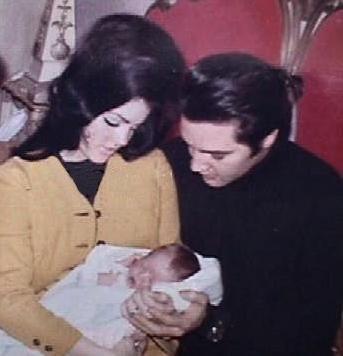 Elvis Presley's Family Members | Sweet family - elvis-and-priscilla-presley Photo