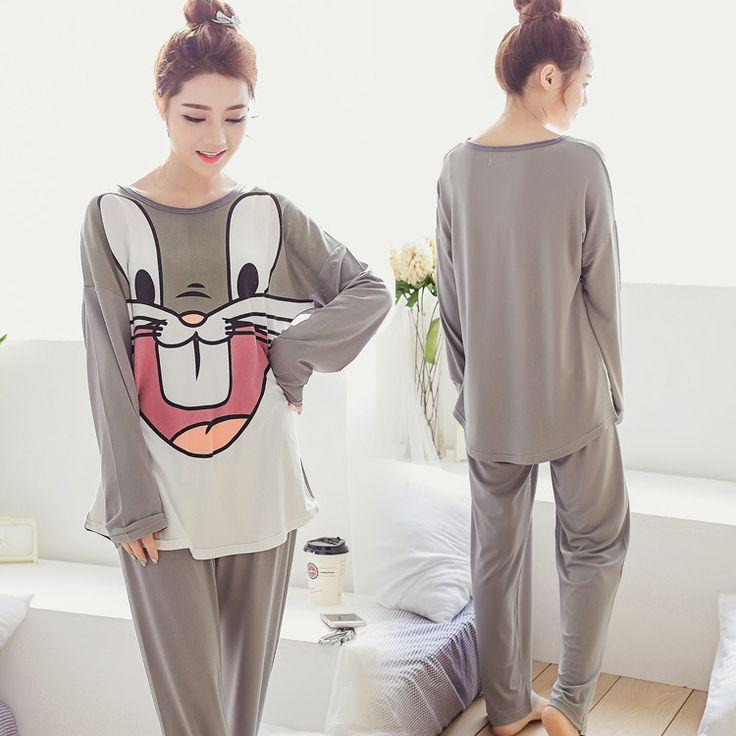 Rabbit Pyjama Femme Pijama Entero Mujer Pyama Woman Pijamas De Bichos Animal Pajamas For Women Nightwear