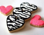 Zebra cookies! Why didn't I think of this!!!