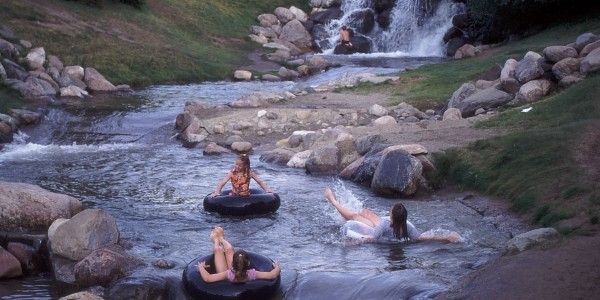 Kid-Friendly Day Trips from Edmonton: Tubing at Red Deer's Discovery Canyon