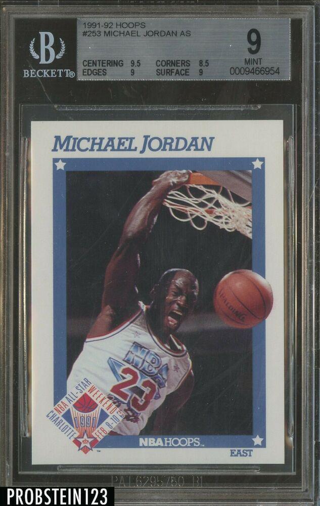1991-92 NBA Hoops #253 Michael Jordan