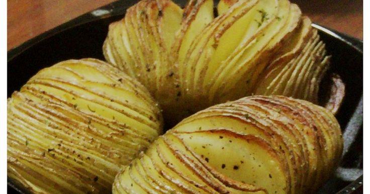 トースターで簡単ハッセルバックポテト by ☆ゆべ☆ [クックパッド] 簡単おいしいみんなのレシピが273万品