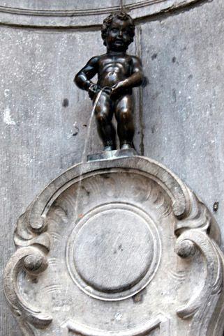 MANNEKEN PIS, Bélgica, Bruxelas
