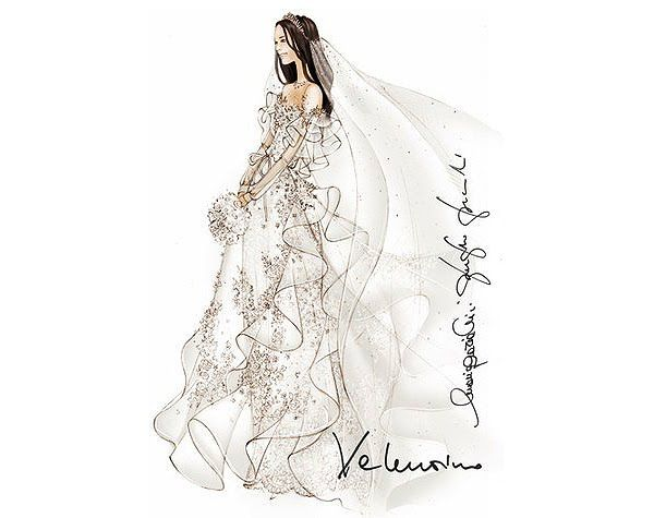 If It's Hip, It's Here: 29 Famous Fashion Designers Sketch Wedding Gowns For Kate Middleton.