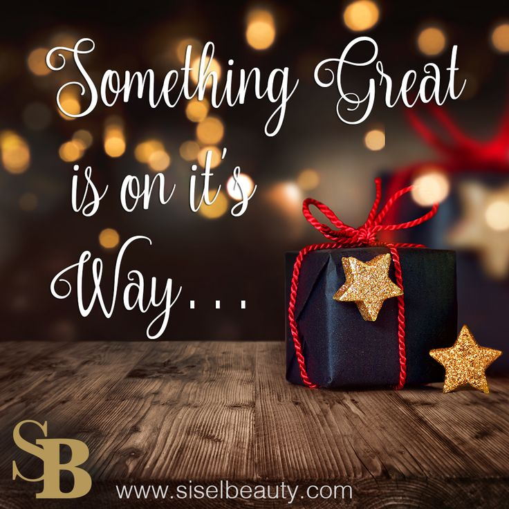 Something Great  is on it's Way…  #siselbeauty #sisel #gift #holidaygift #cosmetics #beauty