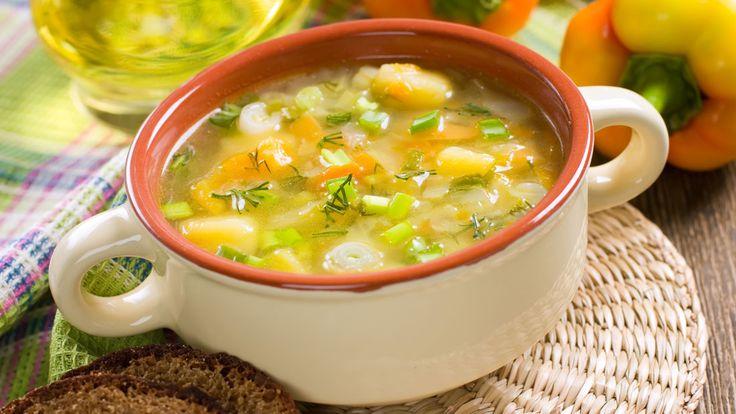 Vegetable Soup For Digestive Health