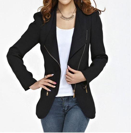 Dámský kabát se zipem křivák černý – Velikost L Na tento produkt se vztahuje nejen zajímavá sleva, ale také poštovné zdarma! Využij této výhodné nabídky a ušetři na poštovném, stejně jako to udělalo již velké …