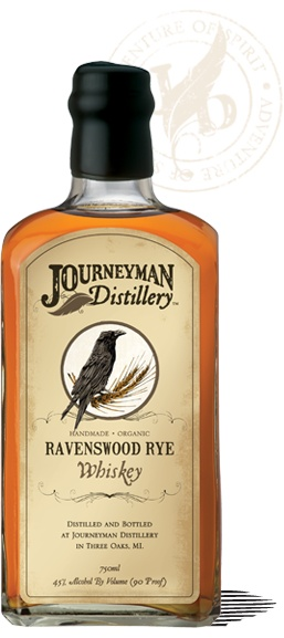 Journeyman Distillery Hand Crafted Organic Whiskey And