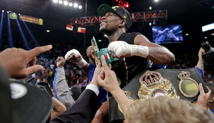 [FOTOS] La victoria de Floyd #Mayweather sobre el joven 'Canelo' Álvarez