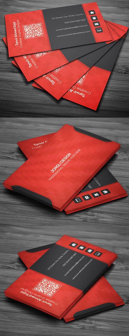 20 Corporate Creative Business Card PSD Templates