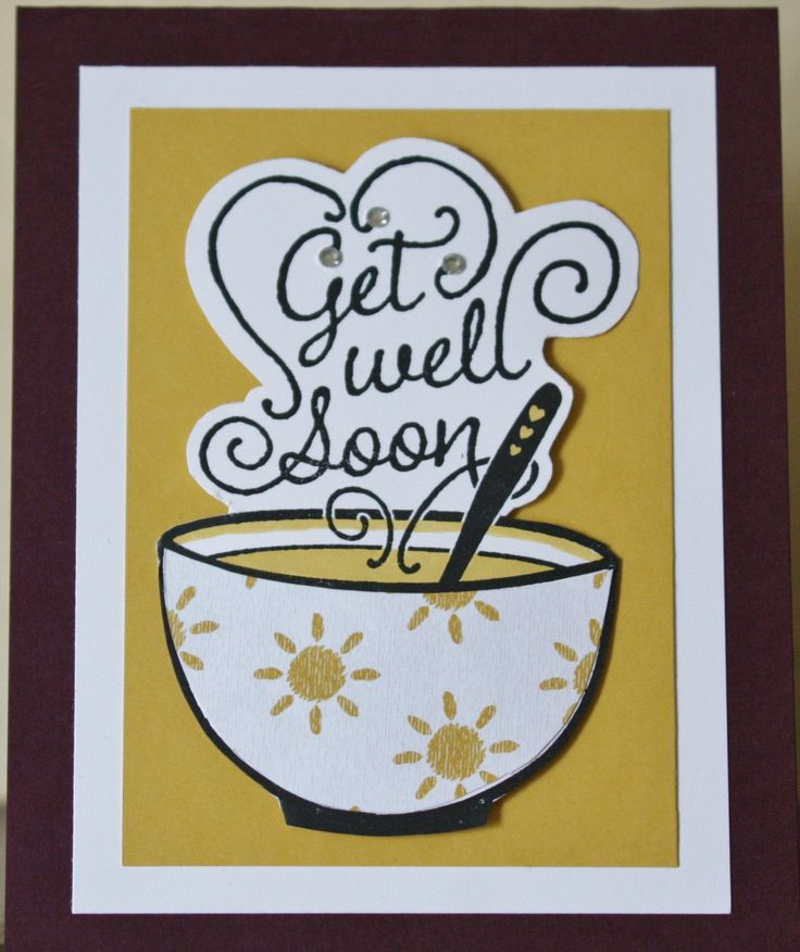 Stampin' Up Get Well Soup