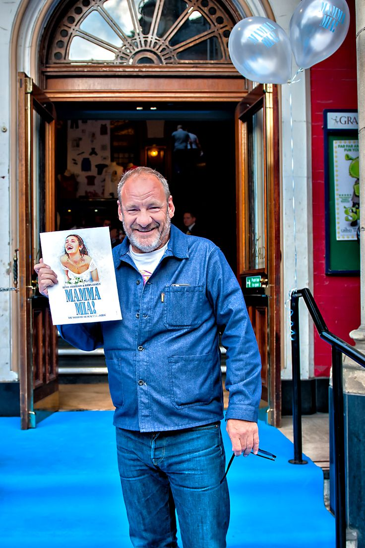 Emmerdale's Nick Miles arrives on the blue carpet.  We ❤️ this f-ABBA-lous photo from the MAMMA MIA! UK Tour's Press Night on 31 May 2017 at Leeds Grand Theatre.  For all MAMMA MIA! UK Tour dates and tickets visit: www.mamma-mia.com  Photo by Anthony Robling.  #MammaMiaMusical #MammaMiaUKTour #Leeds #PressNight