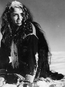 Mirjami Kuosmanen    (finnish actress)  movie - Valkoinen Peura