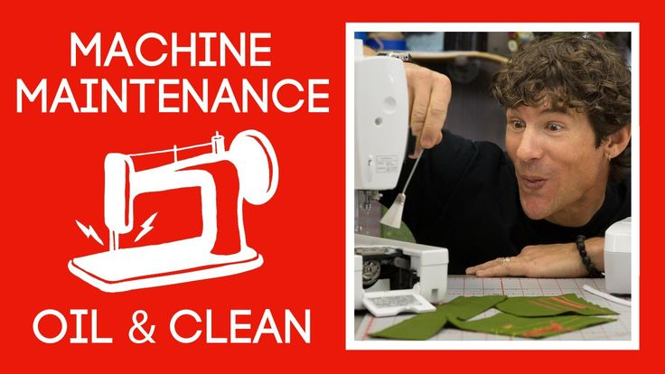 Free Maintenance Video Tutorial for your Sewing Machine!