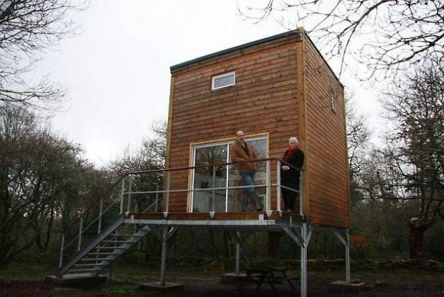 Ils inventent l'Indépendante, une maison écolo et low-cost de 40 m² à 35 000 € | Ouest France…