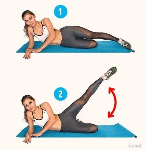 Упражнения, которые помогут справиться с целлюлитом за 2 недели