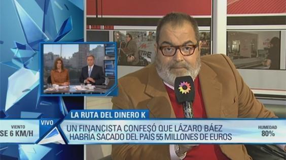 En su programa Periodismo para todos, Jorge Lanata reveló los giros millonarios de un empresario K al exterior. Sobre este tema estuvo hablando en Arriba Argentinos. Mirá lo que dijo el periodista: