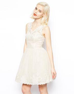 ASOS Gothic Prom Dress