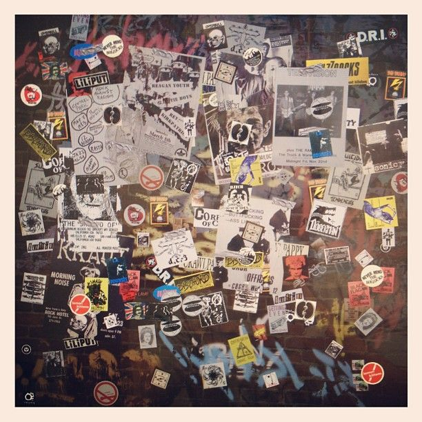 More #CBGB's wall re-creations being made by James DrZ Zdaniewski.