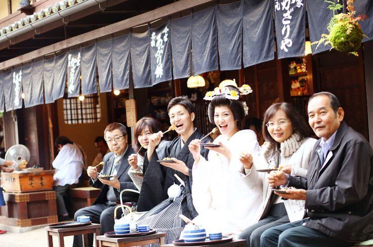 前撮りフォトギャラリー 和装前撮り 京都好日