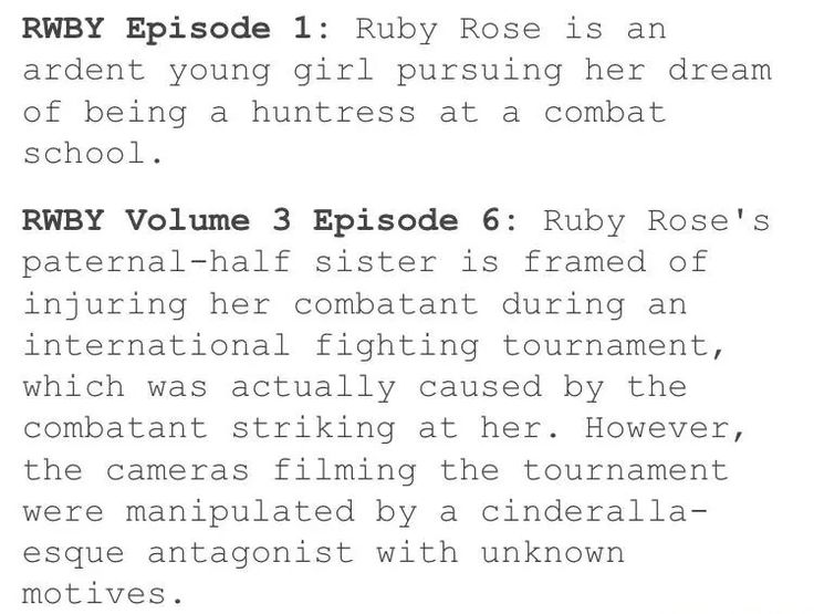 RWBY: Episode 1 .vs. Volume 3, Episode 6