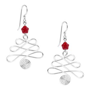 Tree Jig Earrings | Fusion Beads Inspiration Gallery