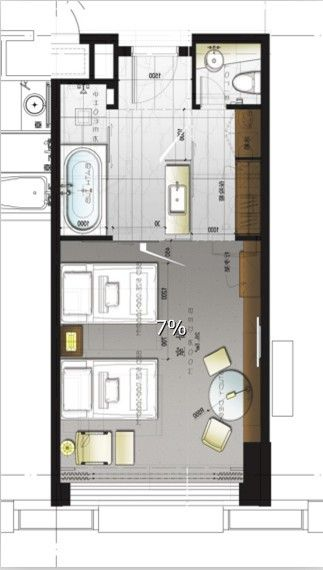 Hotel Room Blueprint: 290 Best Images About Hotel Floor Plan On Pinterest