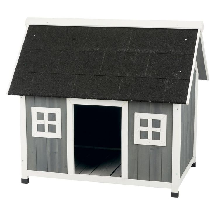 Trixie 42 75 In X 31 5 In X 39 25 In Barn Style Dog House Large X Large 39502 The Home Depot Large Dog House Dog House With Porch Barn Style House