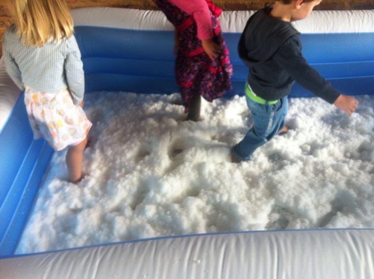 Snowpit frozen party
