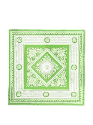 63% OFF Versace Women's Geometric Baroque Printed Scarf, Green/White