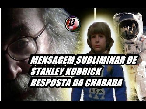 Terra plana - Resposta da charada - Mensagem subliminar de Stanley Kubrick