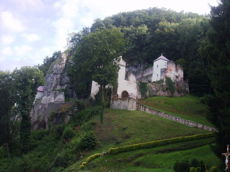 The oldest pilgrimage site in Slovakia, Veľká Skalka monastery in the village Skalka nad Váhom.