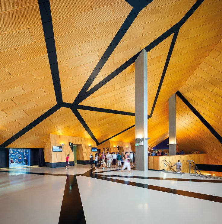 Perth arena - not sure this is relevant, but I like the pattering from floor to wall to ceiling