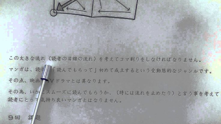 """.Lesson9 Learn Japanese""""How to draw manga """" tutorial in JAPANESE."""