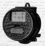This site shows the history of the electricity meter from the origins to modern times.  The history of meter companies is interesting and is full of names such as Westinghouse, General Electric, Sangamo, and Duncan.  Today we have Elster, GE, Itron, Landis+Gyr, etc.