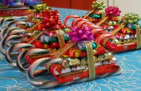 inspiration candy sleigh