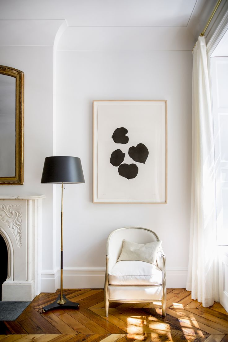 : Decor, Spaces, Living Rooms, Floors, Chairs, Art, Interiors Design, Black White, House