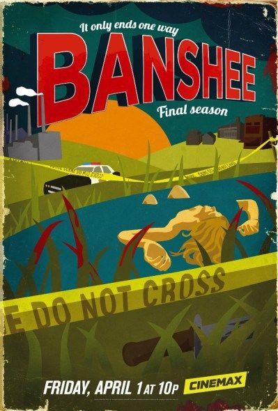 Cinemax has released descriptions, pictures and videos as an overview of the fourth and final season of its Banshee TV show. Check them out at TV Series Finale. Should Banshee have been cancelled or renewed for a fifth season?