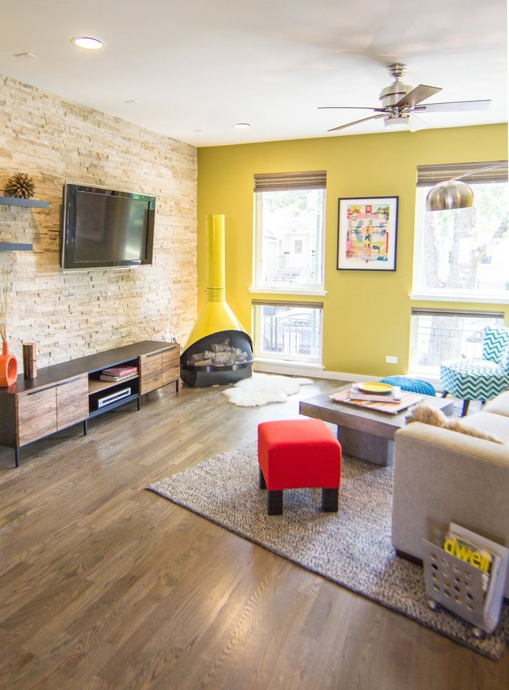 House tour a creative couples colorful chicago home