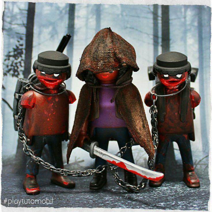 Michonne and Pet Zombies #playmobil #thewalkingdead #playtutomobil
