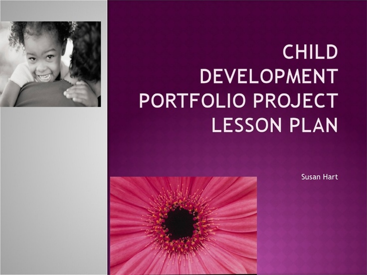 preschool-program-portfolio-lesson-plan by sueh1153 via Slideshare