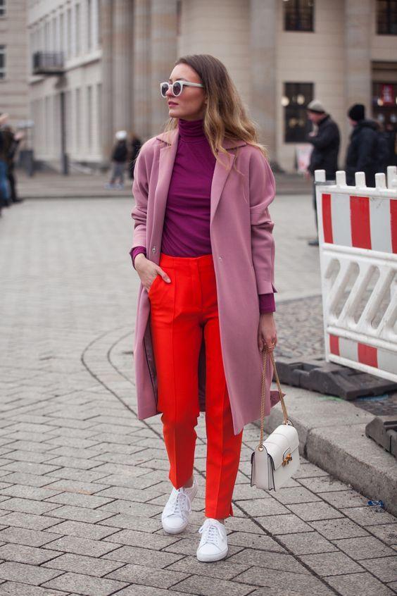 Color-blocking trend in 2018 / Колор-блокинг - тренд 2018 | The Anastasia Says