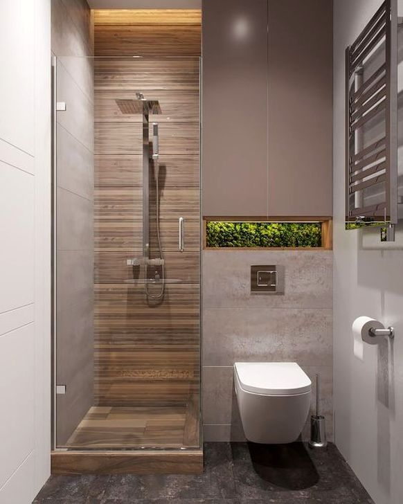 48 Cool Tiny House Bathroom Remodel Design Ideas Small Bathroom Makeover Small Bathroom Bathroom Design Small