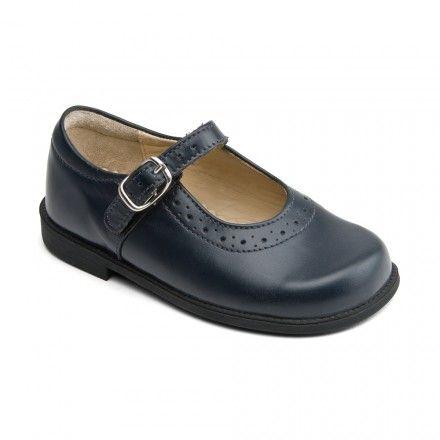 Floor Price New GirlsChildrens Black Touch Fastening School Shoes With Flower  Black Scuff Pu  U