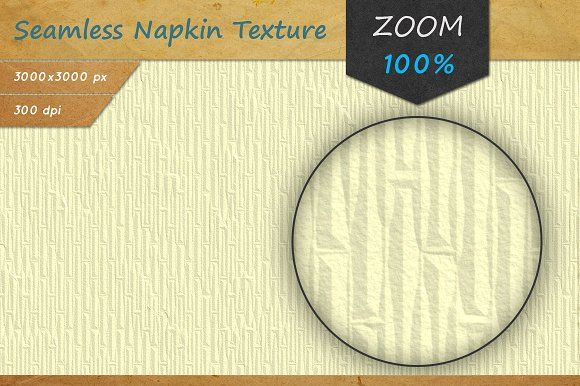 Paper Napkin Seamless HD Texture by Marabu Textures Store on @creativemarket