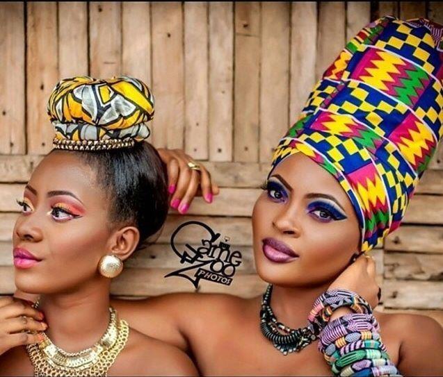 Wrap African style ◇ ankara & kente