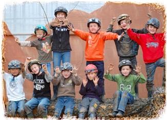 Oudoor survival kinderfeestjes in Wateringen.