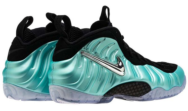 NIKE AIR FOAMPOSITE PRO [ISLAND GREEN / MTLC PLATINUM-ISLAND GREEN] 624041-303